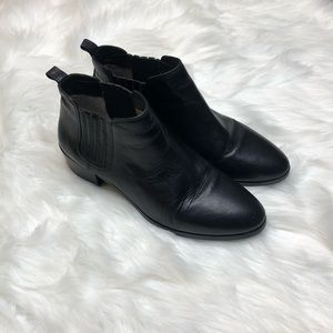 Michael Michael Kors Leather Ankle Booties Women 9